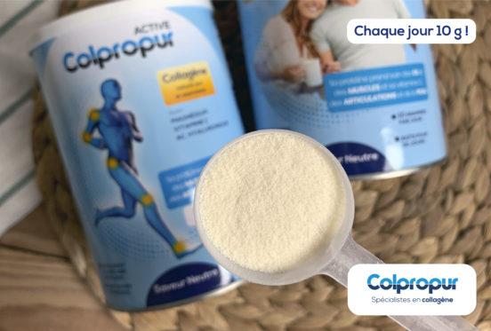 dosage de collagène par jour colpropur 10g